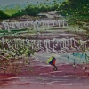 Serie Petrodorado ll. Acrylic on canvas
