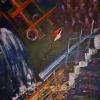 Kite, acrylic on canvas