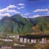 Avila Venezuela, oil on canvas, private collection
