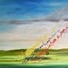 Serie Petrodorado ll, acrylic on canvas