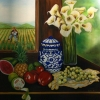 Still Life lll, oil on canvas
