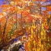 The River in My Dreams. Serie Petrodorado. Acrylic on canvas