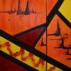 Serie Petrodorado, acrylic, private collection