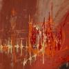 Now. Acrylic on canvas