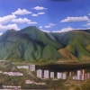 Avila Venezuela, oil on canvas, private collection