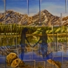 Mirrors of Happiness, oil on canvas, Kananaskis Park Collection.